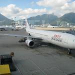 ドラゴン航空 ファーストクラス 搭乗記 香港→北京