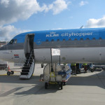 KLM ビジネスクラス (フランクフルト→スキポール) 搭乗記
