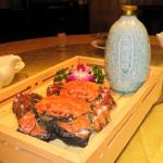 上海蟹の食べ方