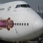 タイ航空 ファーストクラス 成田→バンコク 搭乗記