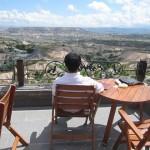カッパドキア・ケーブ・リゾート ホテルで最高の景色とトルココーヒを