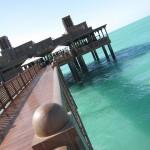Madinat Jumeirah Dar Al Masyaf ホテル Pierchic で昼食を