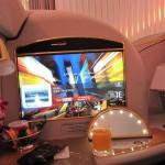 エミレーツ航空 A380 ファーストクラス ドバイ→香港 搭乗記