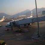 キャセイ・パシフィック ビジネス 香港→ムンバイ 搭乗記 CX685