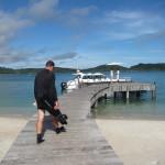 ソング サア プライベート アイランドでスキューバダイビング