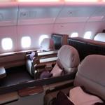 カタール航空 A380 ファーストクラス 搭乗記 バンコク→ドーハー