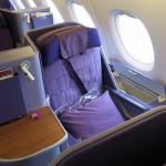タイ航空 A380 TG677 成田→バンコク ビジネスクラス搭乗記