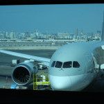 カタール航空 B787 ファーストクラス搭乗記 ドバイ→ドーハ