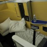 ANA ファーストクラス 搭乗記 シンガポール→成田 NH802