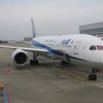 ANA ビジネスクラス 787-9 搭乗記 金浦→羽田