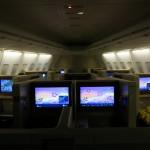タイ国際航空 TG661 ファーストクラス 搭乗記 羽田→バンコク
