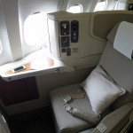 香港ドラゴン航空 ファーストクラス搭乗記 上海浦東→香港