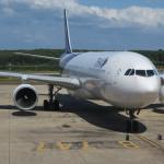 タイ国際航空 TG252 ビジネスクラス搭乗機 クラビ→バンコク