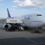 タイ国際航空623 ファーストクラス搭乗記 関西国際空港→バンコク