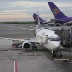 タイ国際航空 TG281 ビジネスクラス搭乗記 バンコク→サムイ