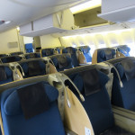 ANA NH963 ビジネスクラス搭乗機 羽田→北京